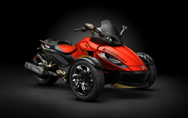 Can-Am Spyder RSS Orange 2016 (click to view)