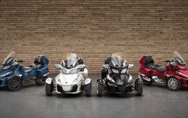 Can-Am Spyder RT Bikes 2016 (click to view)