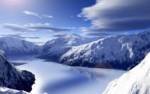 Canada Snowy Mountains (click to view)