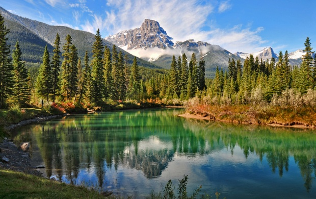 Canmore Rocky Mountains (click to view)