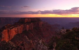 Canyon Mountain Sunset