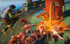 Captain Ahab Sunset Overdrive 2014