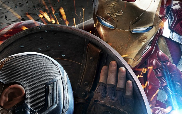 Captain America Civil War Iron Man Poster (click to view)