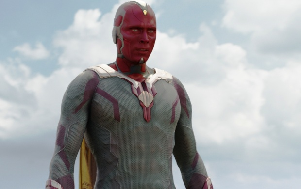 Captain America Civil War Paul Bettany Vision (click to view)