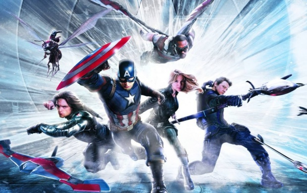 Captain America Civil War Team Art (click to view)
