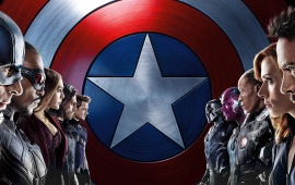 Captain America Civil War Two Superhero Team