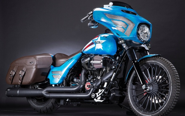 Captain America Street Glide Special Touring (click to view)