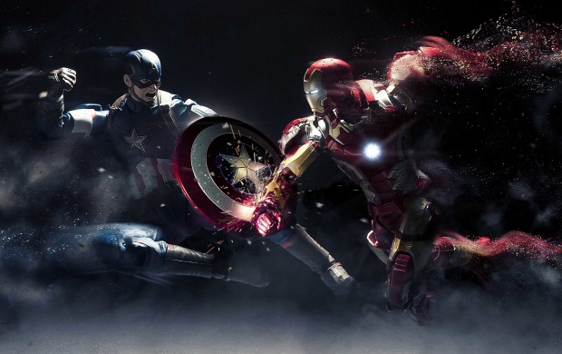 Captain America Vs Iron Man (click to view)