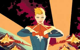 Captain Marvel Civil War 2