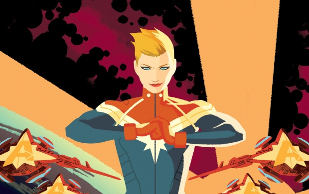 Captain Marvel Civil War 2 (click to view)