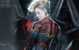 Captain Marvel In Brie Larson First Look