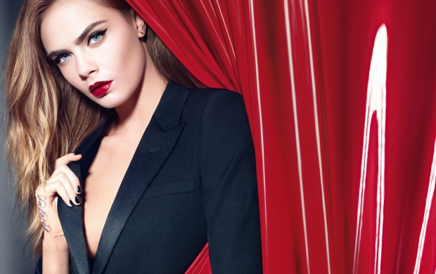 Cara Delevingne In YSL (click to view)