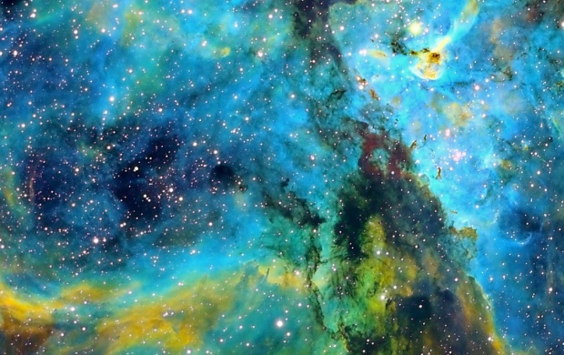 Carina Nebula Space (click to view)