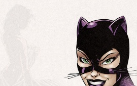 Cartoon Catwoman