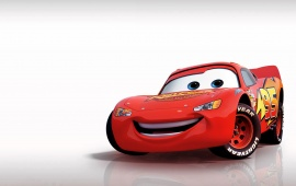Cartoon Ferrari Red Car
