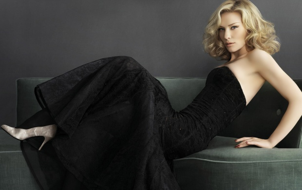 Cate Blanchett in Black Dress (click to view)