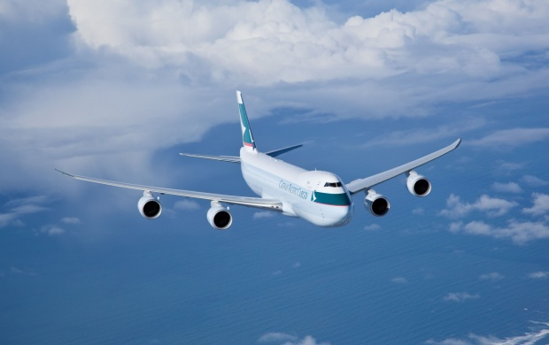 Cathay Pacific 747 8i (click to view)