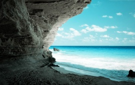 Cave at Sea Shore