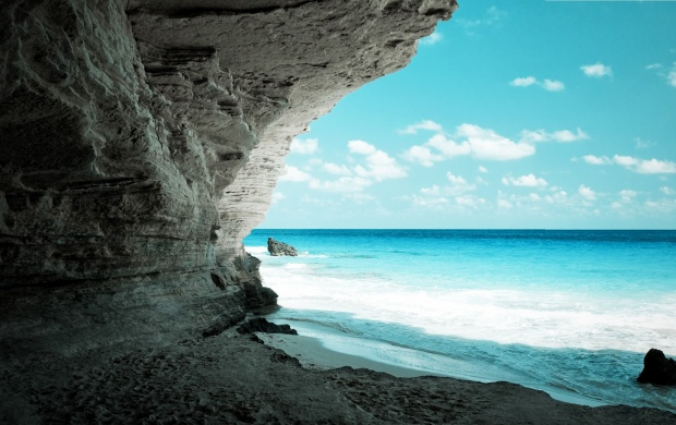 Cave at Sea Shore (click to view)