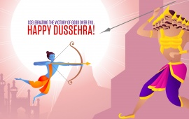 Celebrating Dussehra 2015