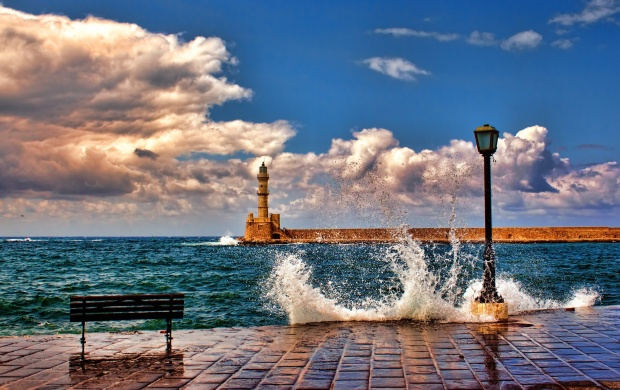 Chania Old Harbour (click to view)
