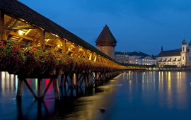 Chapel Bridge Lucerne Switzerland