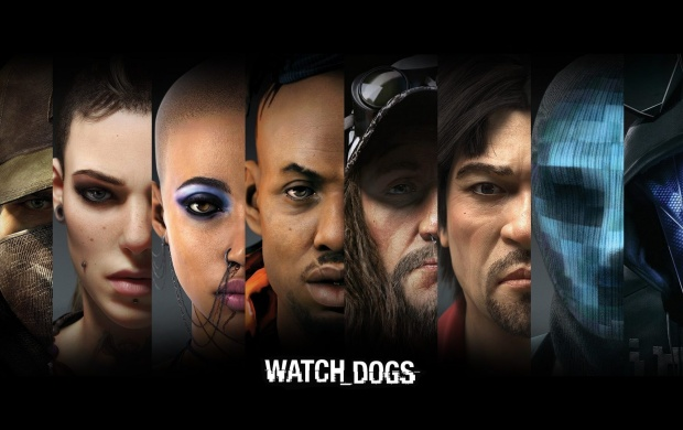 Characters Watch Dogs (click to view)