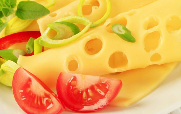 Cheese Slices And Tomato Relish (click to view)