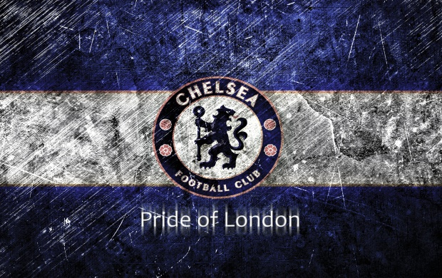 Chelsea Blue White Scratches (click to view)