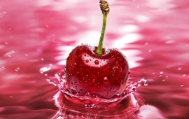 Cherry Splash Water