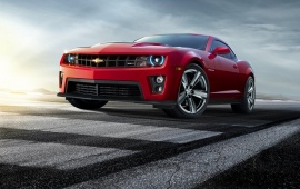 Chevrolet Camaro ZL1 Red