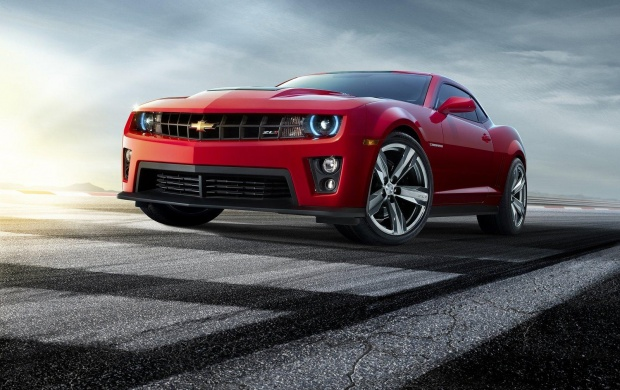 Chevrolet Camaro ZL1 Red (click to view)