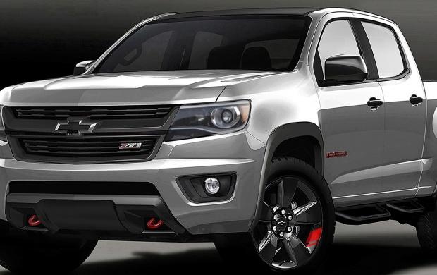 Chevrolet Colorado Red Line Series Concept 2015 (click to view)
