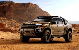 Chevrolet Colorado ZH2 2016