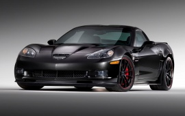 Chevrolet Corvette Z06 Centennial Edition Black