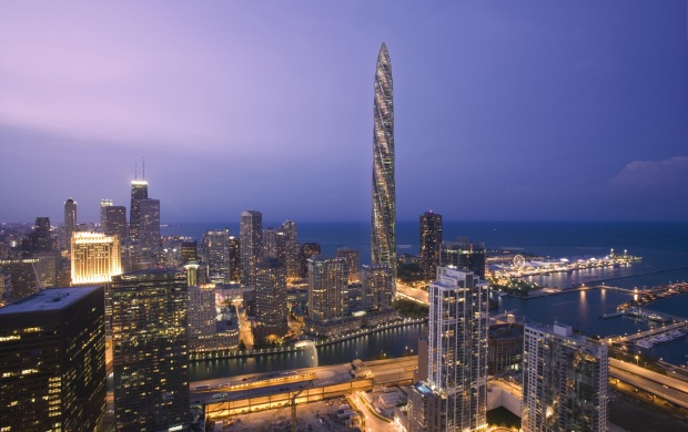 Chicago At The Night (click to view)