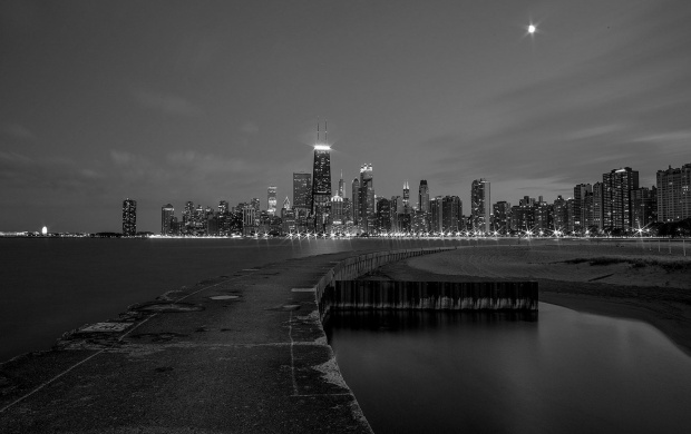 Chicago Black And White Buildings (click to view)