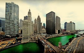 Chicago River Panoramic