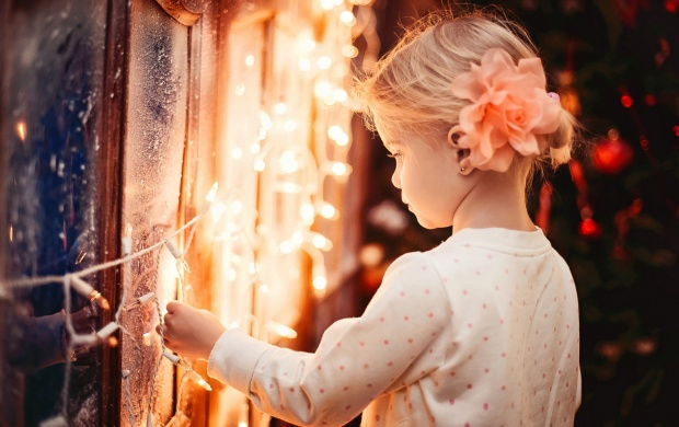 Child Winter Lights (click to view)