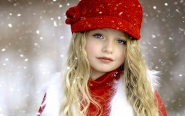 Children Snow Cap