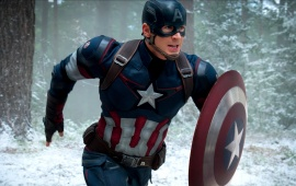 Chris Evans As Captain America Avengers 2