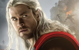 Chris Hemsworth As Thor Avengers 2015