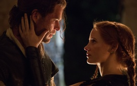 Chris Hemsworth Jessica Chastain The Huntsman Winters War