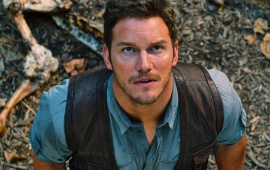 Chris Pratt Jurassic World 2015