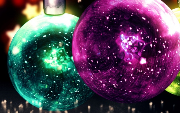 Christmas Balls And Star (click to view)