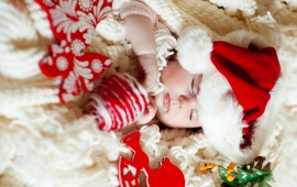 Christmas Child Sleep