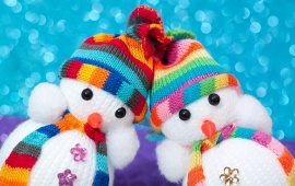 Christmas Cute Snowmen Toys