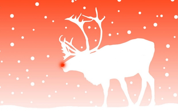 Christmas Deer And Winter (click to view)