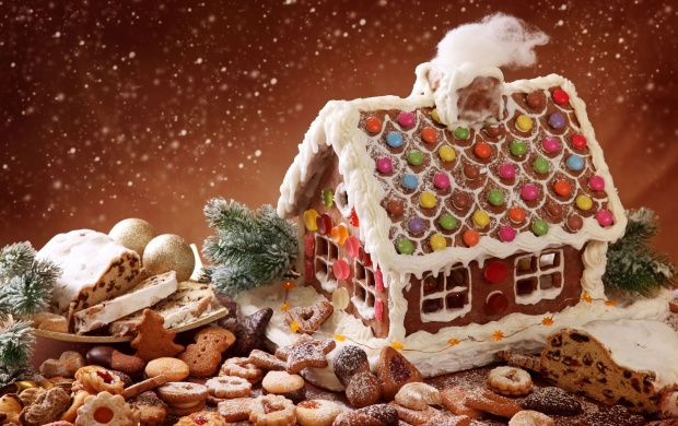 Christmas Gingerbread House (click to view)