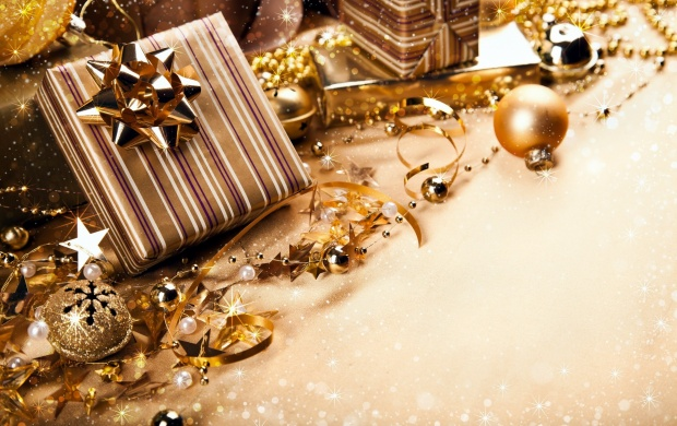 Christmas Gold Color Gifts (click to view)